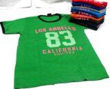 เสื้อคอมกลม ลาย shirt los angeles 83 california
